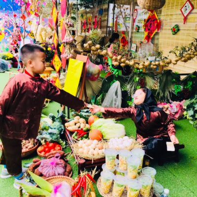 Phiên chợ mùa đông